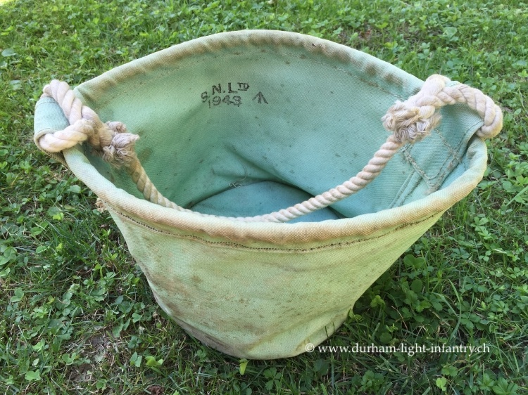 British Canvas Bucket